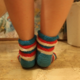 Cute Fluffy Sock
