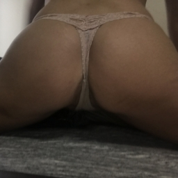 Nude Sexy Lace Thong with cotton crotch