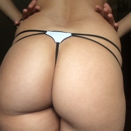 White&Black G-String