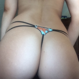 Cotton tiger G String