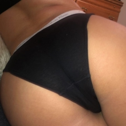 Black Calvin Klein Cotton Panties
