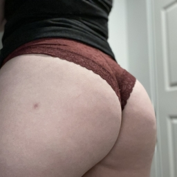 Maroon Lace Victorias Secret Hipsters